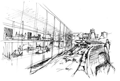External View Sketch