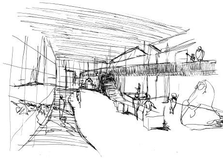 Internal View Sketch