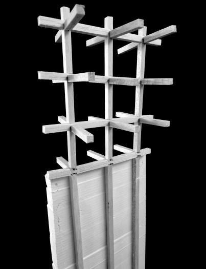 Timber to concrete facade connection study