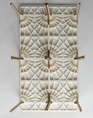 3D Printed Vault Ceiling Model