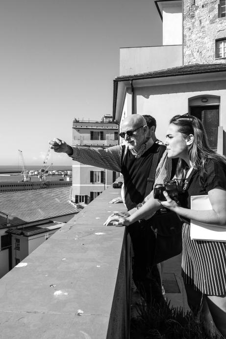 Interview with Roberto Bobbio in Genoa