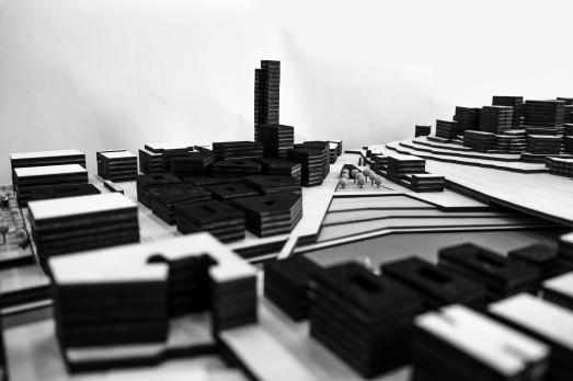 Genoa Masterplan Model, New Development
